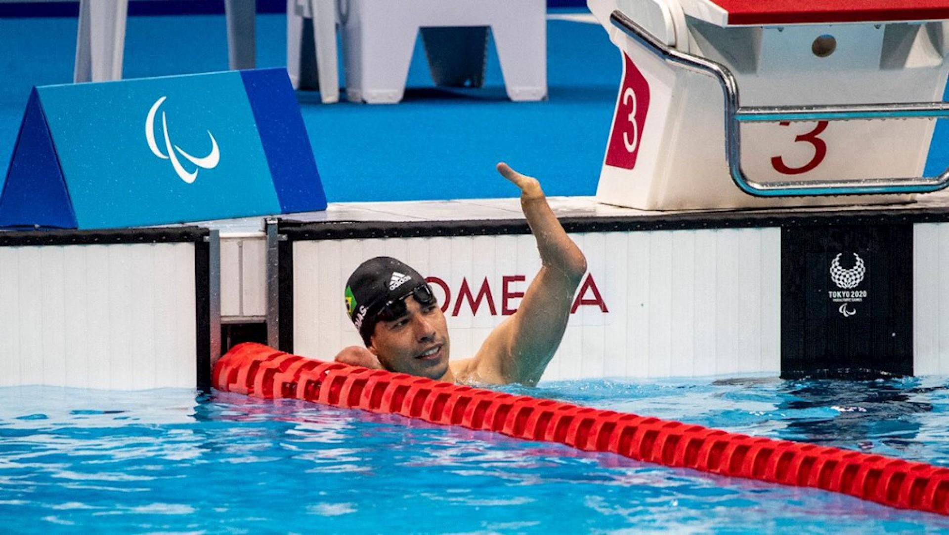Daniel Dias será o porta-bandeira do Brasil no encerramento da Paralimpíada