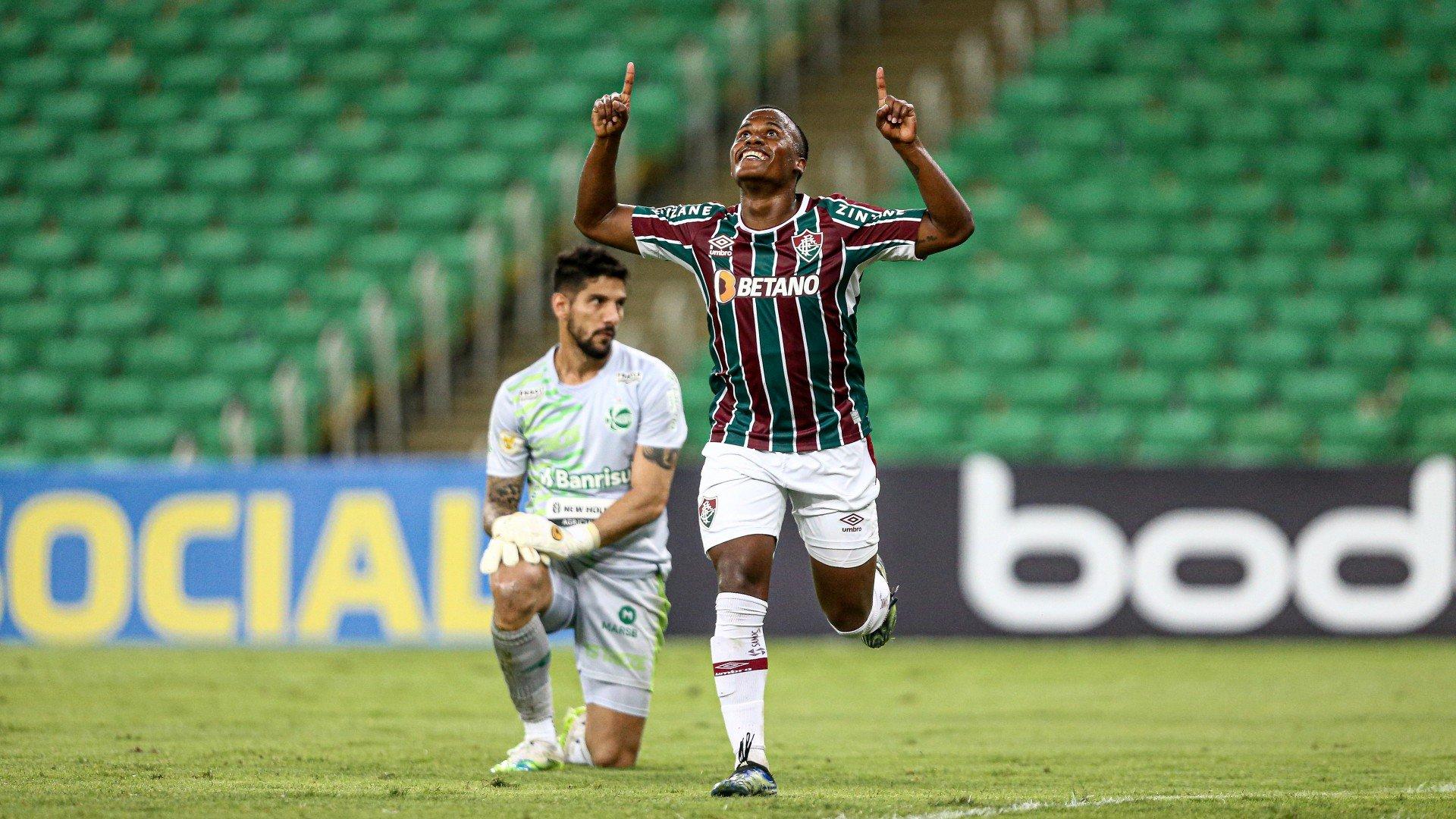 Arias vibra com primeiro gol pelo Fluminense: 'Contente e motivado'