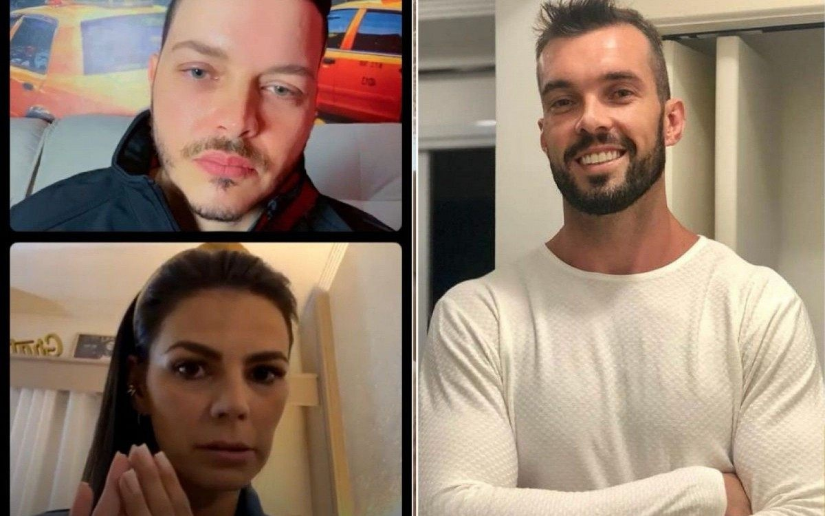 Bruno Di Simone, Patty Pontes e Murilo Becker