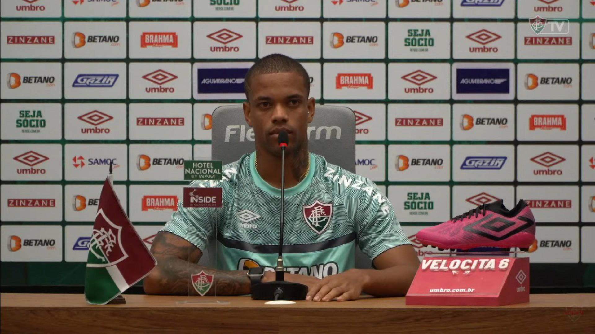 Caio Paulista comemora renovação com Fluminense e destaca: 'Vou procurar evoluir ainda mais'