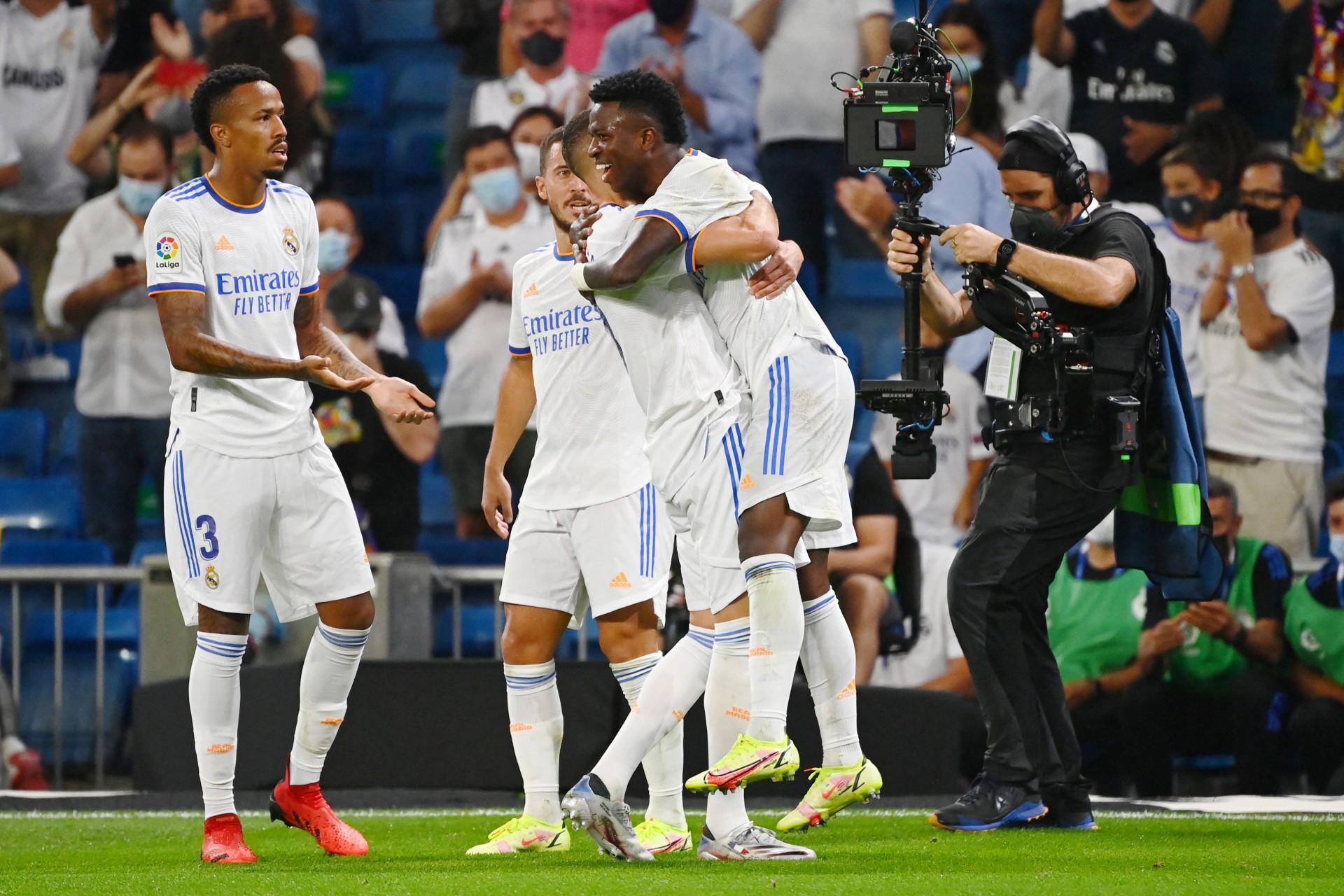 Vinicius Jr comemora boa fase no Real Madrid: 'Eu me sinto bem comigo'
