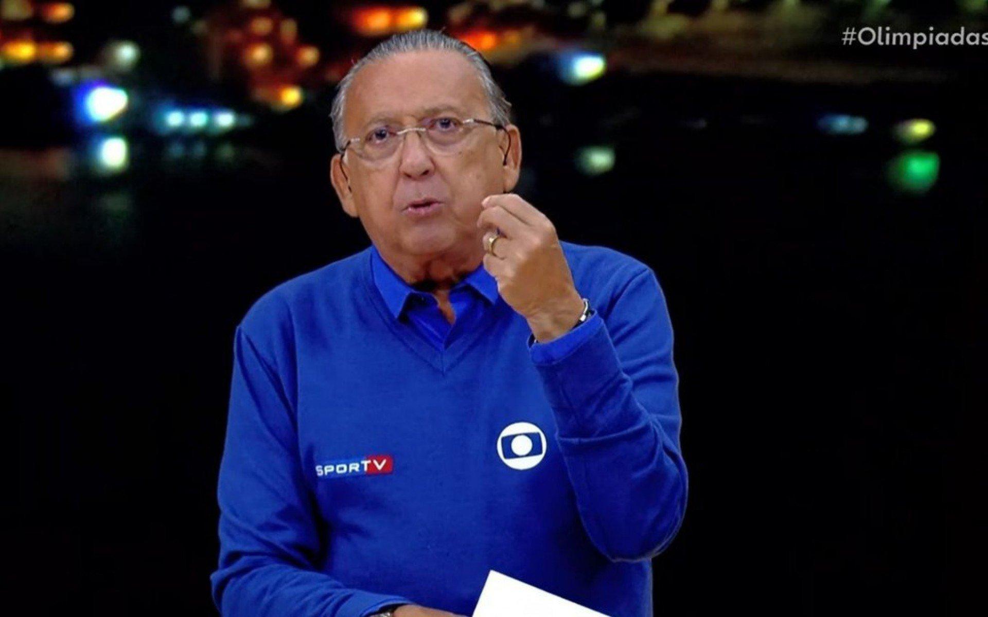 Galvão Bueno evita dizer 'adeus' e afirma que pretende trabalhar nas Olimpíadas de 2024