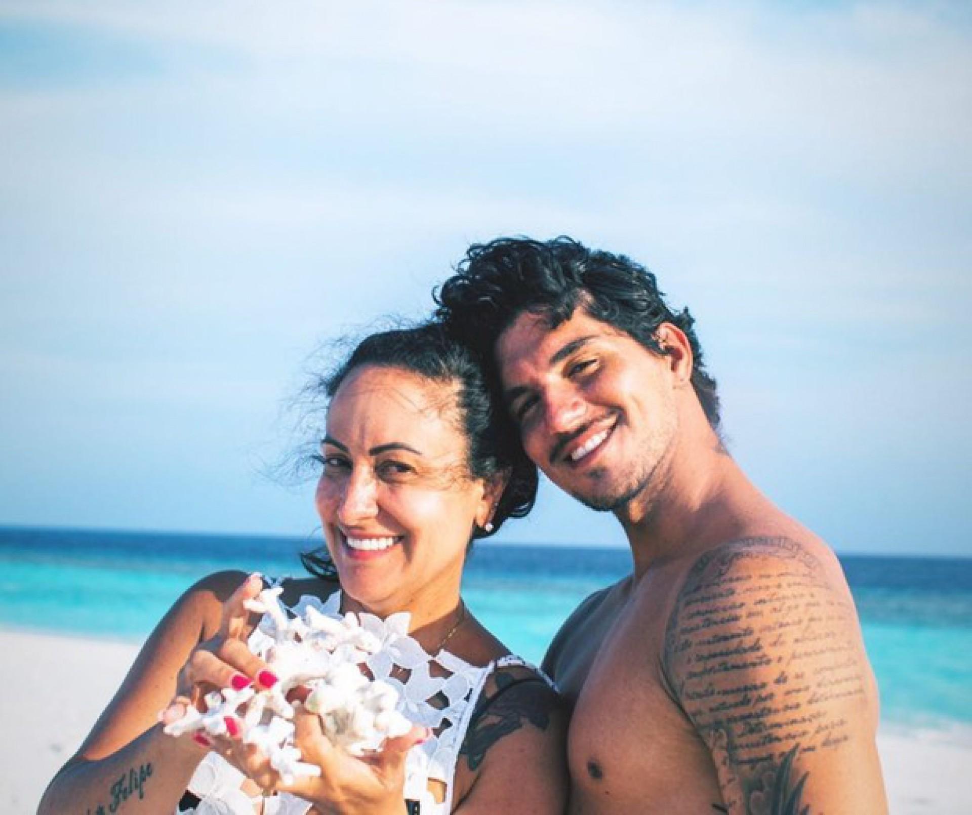 Simone Medina e Gabriel Medina - Reprodução Internet