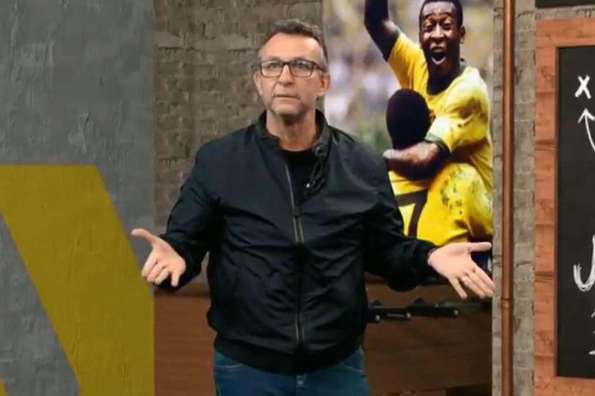 Neto detona Tite por ausência de jogador do Flamengo em convocação: 'Continua fazendo asneiras'
