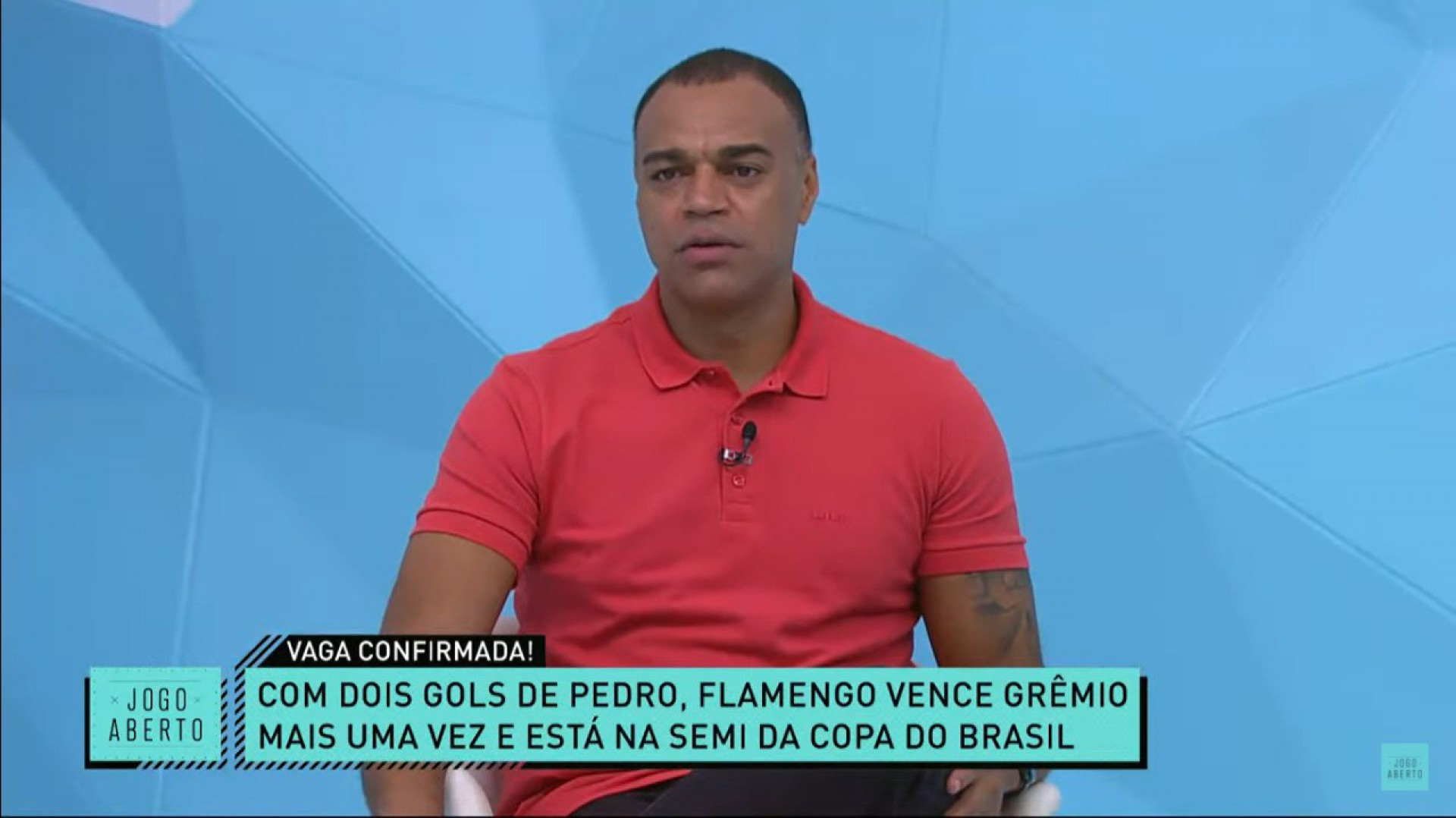 Denílson critica postura de Gabigol e dispara: 'Felipão é campeão do mundo e merece respeito'