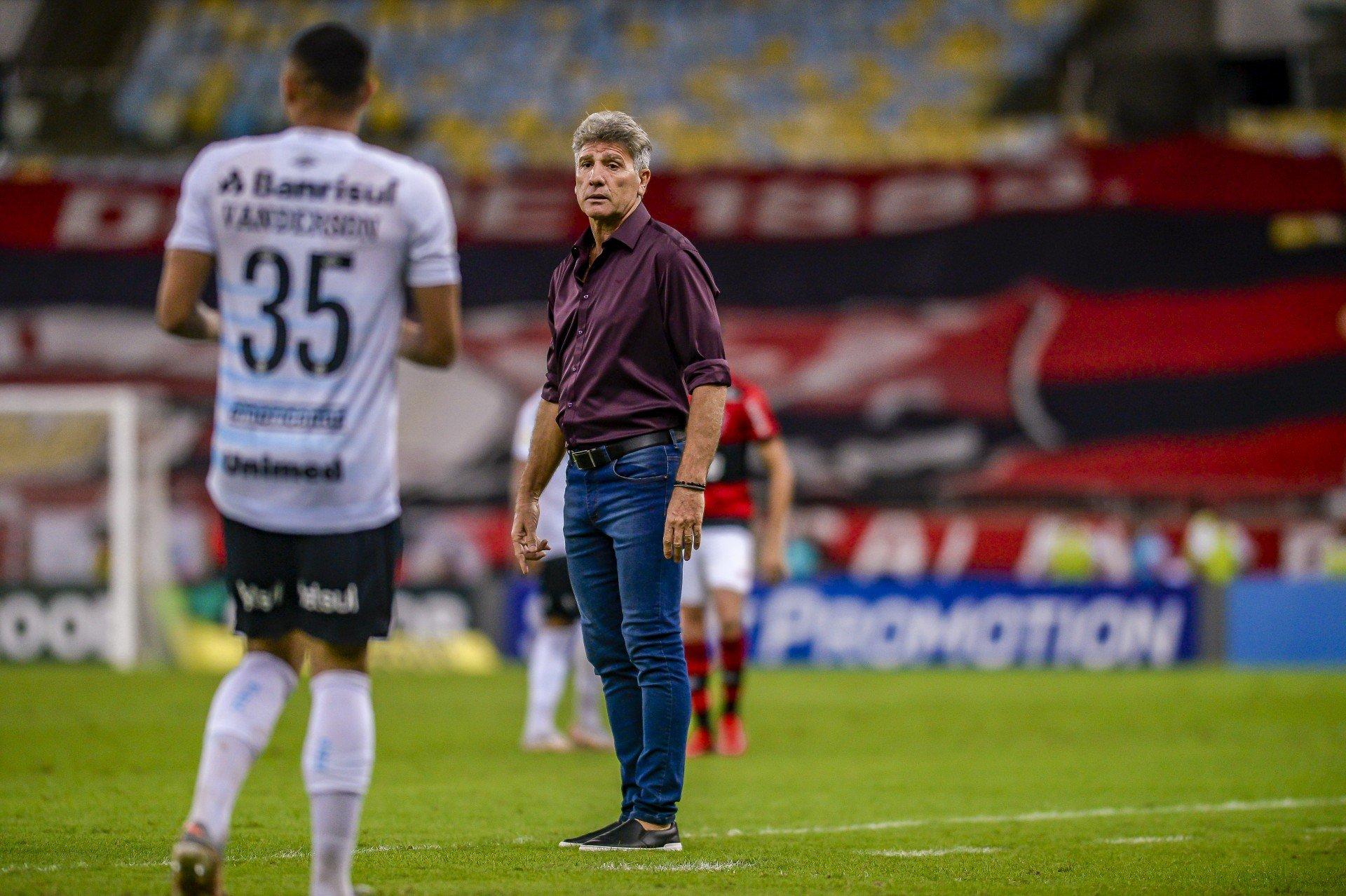Renato Gaúcho lamenta derrota do Flamengo e cita sequência de jogos: 'A cada três dias, temos uma decisão'