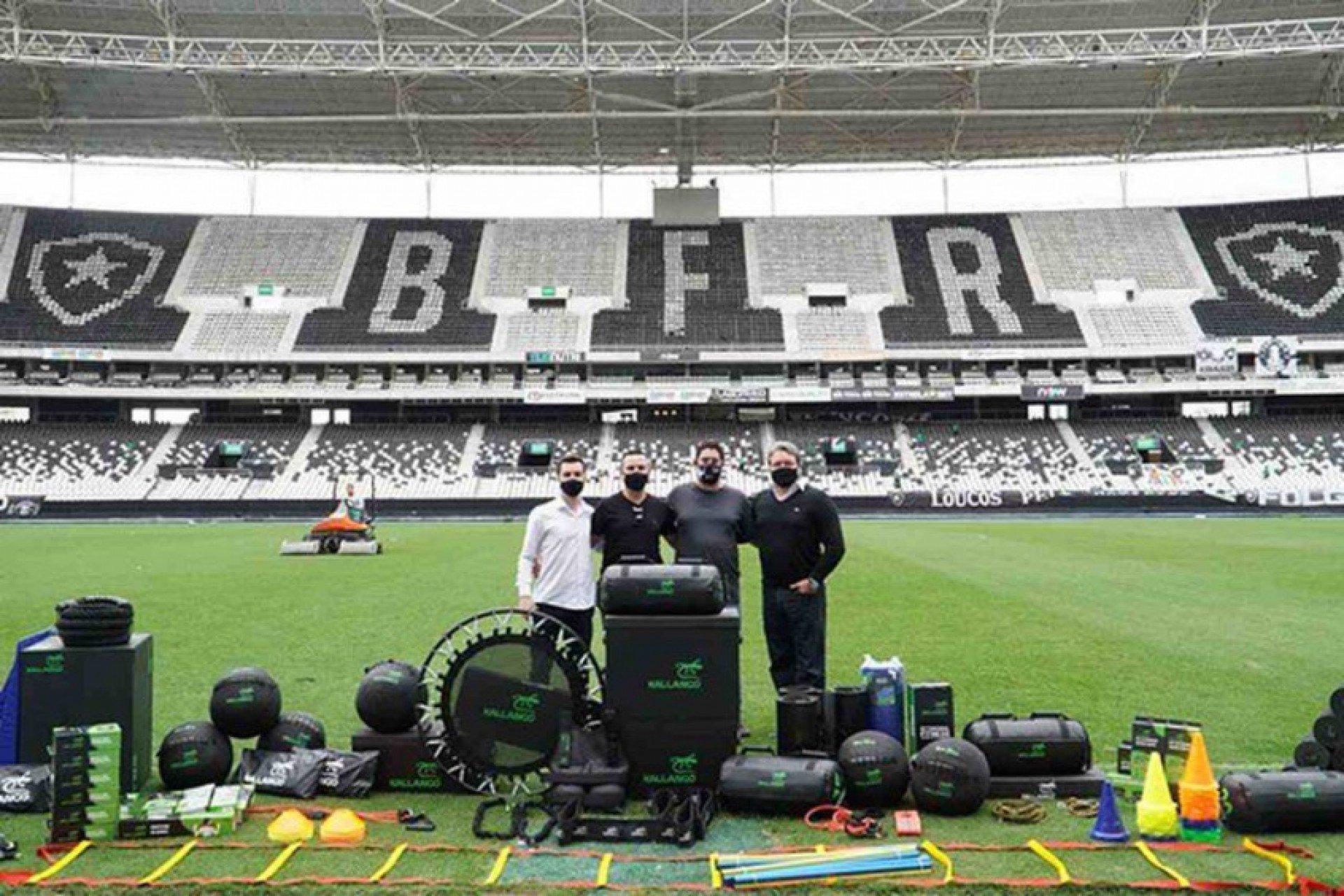 Botafogo fecha acordo com a Kallango para fornecimento de material de performance aos jogadores