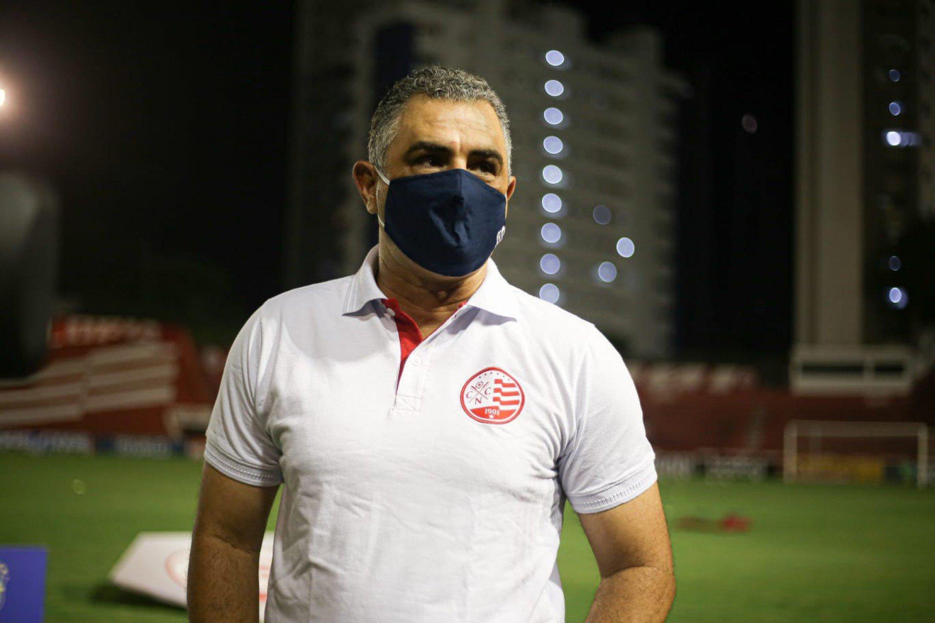 Ex-Botafogo, Marcelo Chamusca não é mais técnico do Náutico