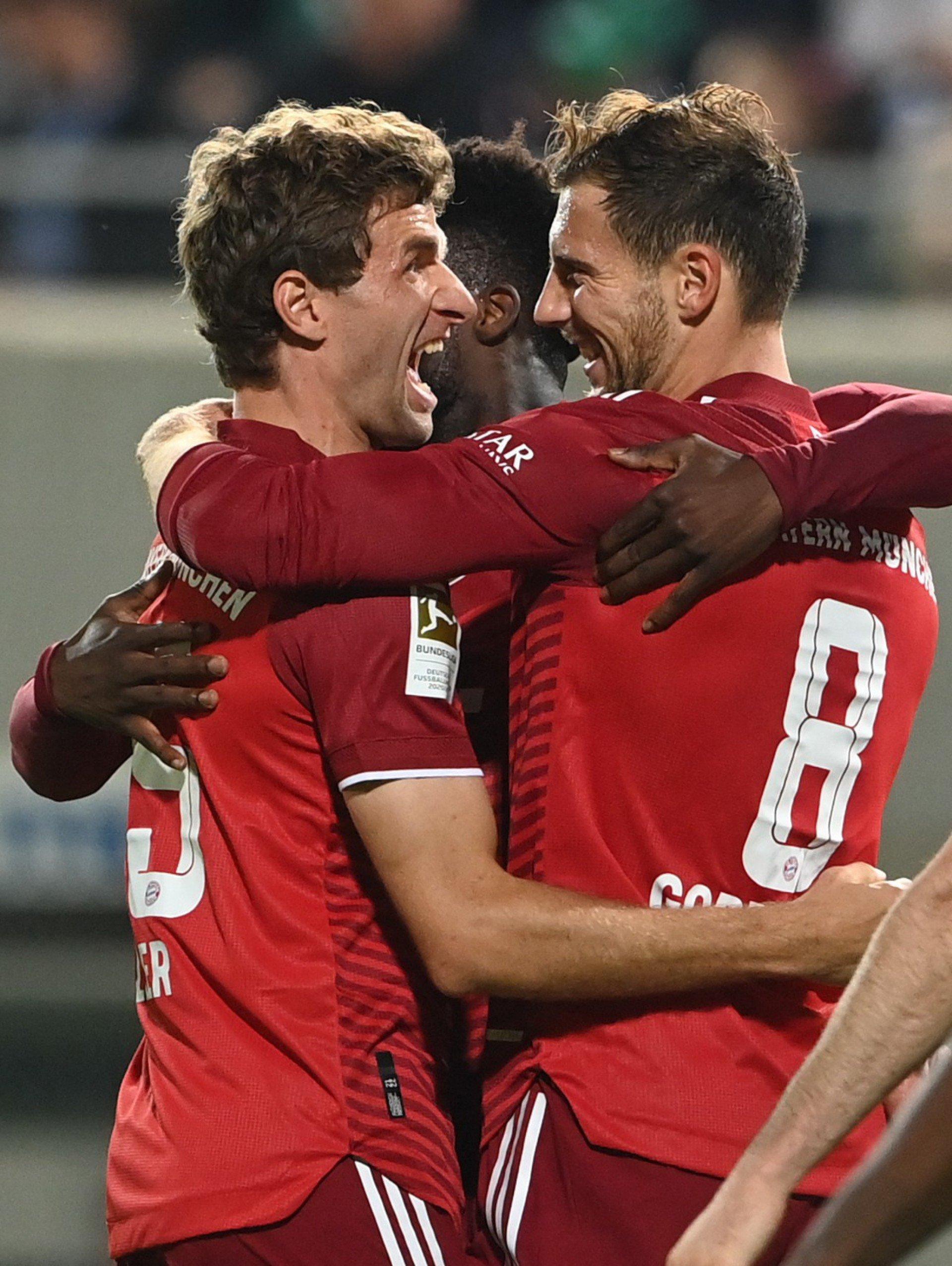 Bayern de Munique completa 80 jogos seguidos fazendo gol e ganha mais uma