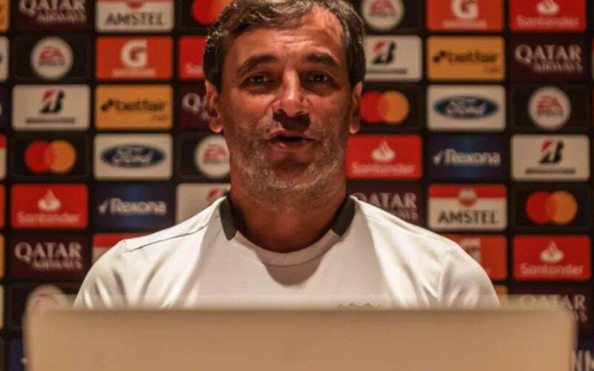 Libertadores: Técnico de rival planeja formas para reverter o placar contra o Flamengo