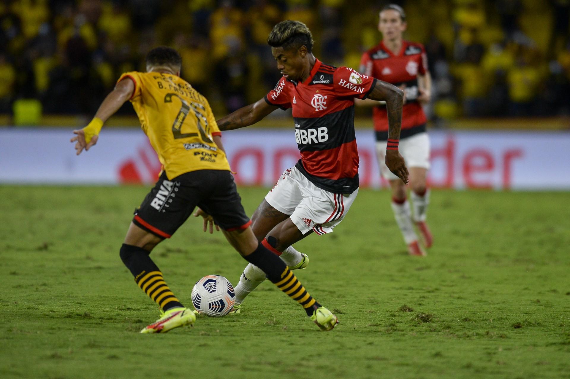 'Não tivemos dificuldade nenhuma', dispara Bruno Henrique sobre classificação do Flamengo na Libertadores