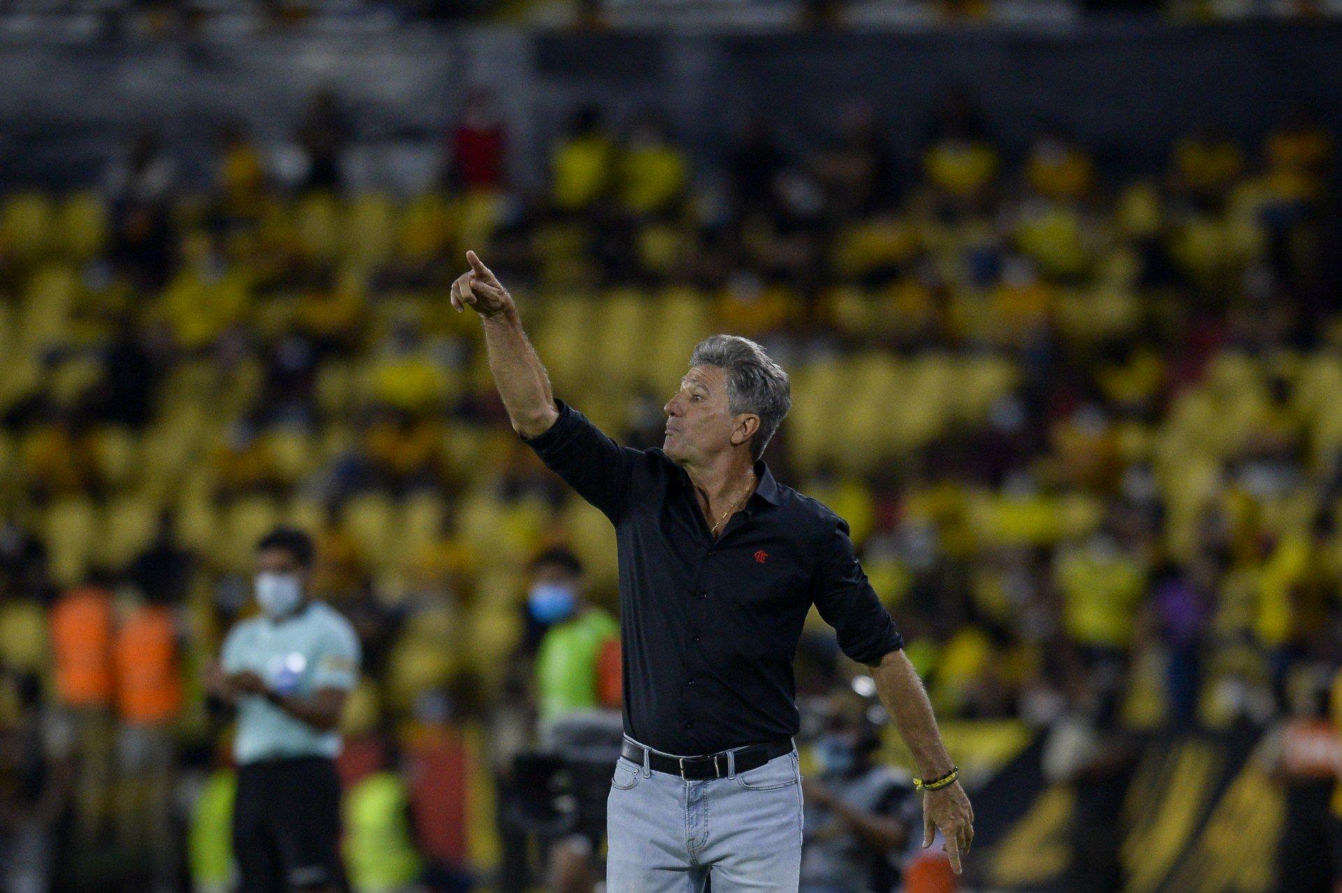 Renato Gaúcho comemora terceira final e diz que classificação encerra dúvidas sobre Flamengo na Libertadores