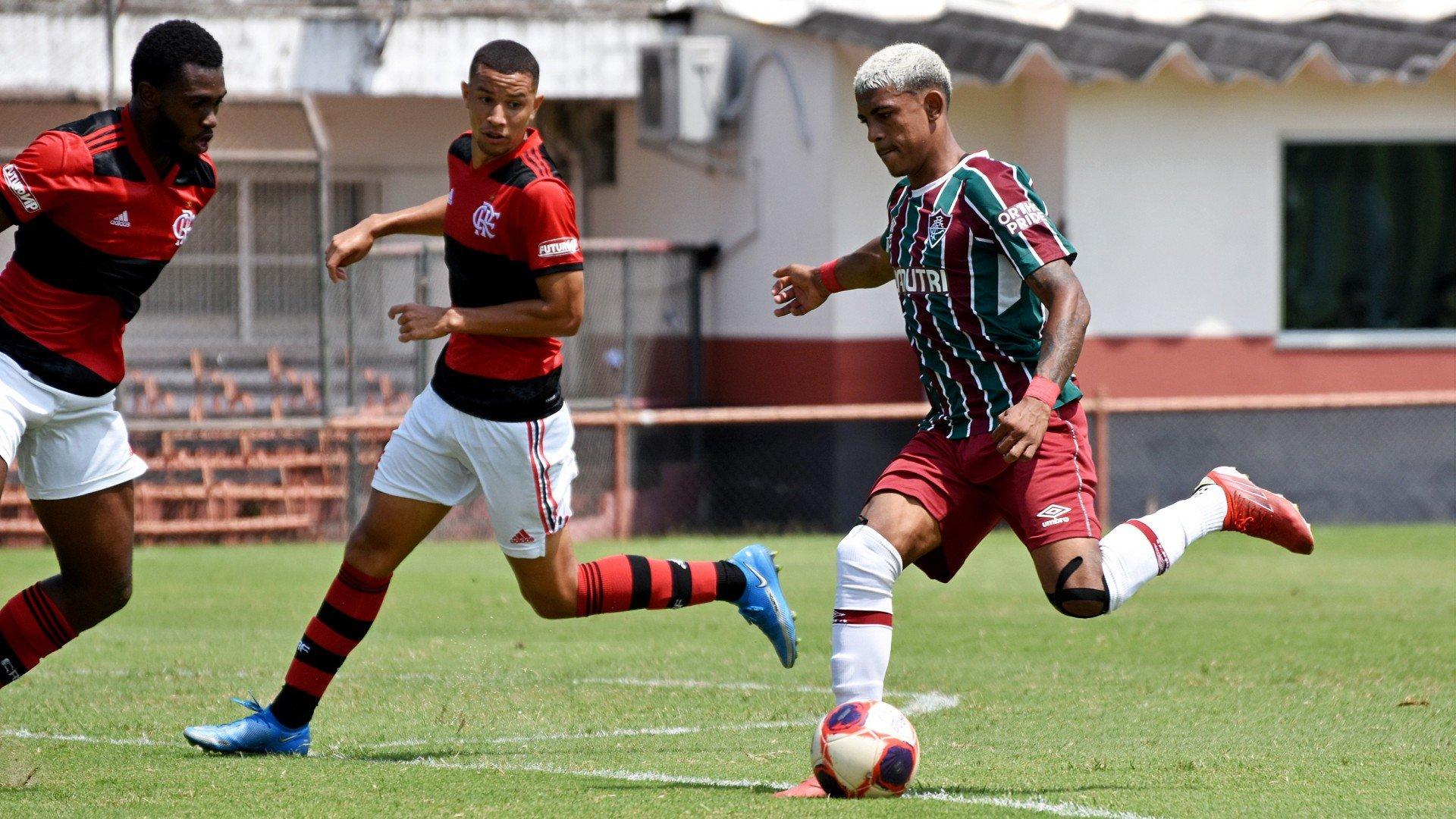Fluminense perde para o Flamengo mas fica com o título do Carioca Sub-20
