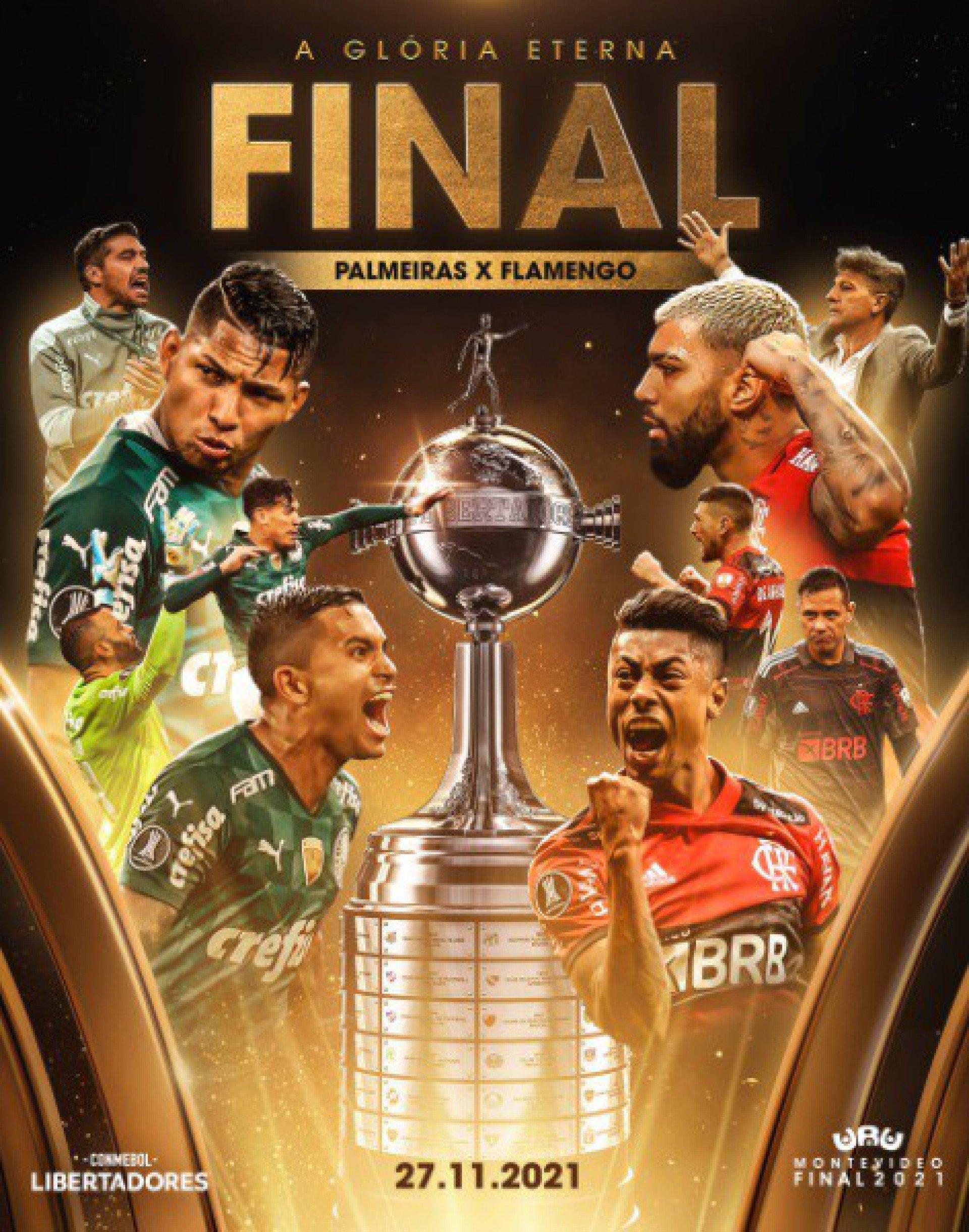 Final da Libertadores entre Flamengo e Palmeiras pode ter 100% de público liberado