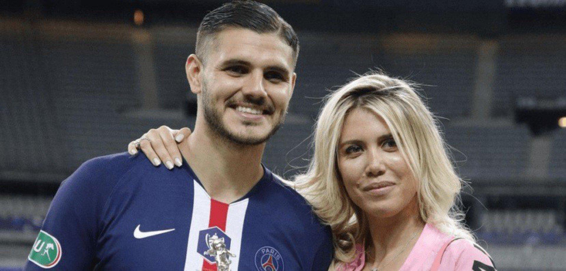 Icardi pode deixar o PSG para evitar divórcio com ex-esposa de atacante que defendeu o Vasco