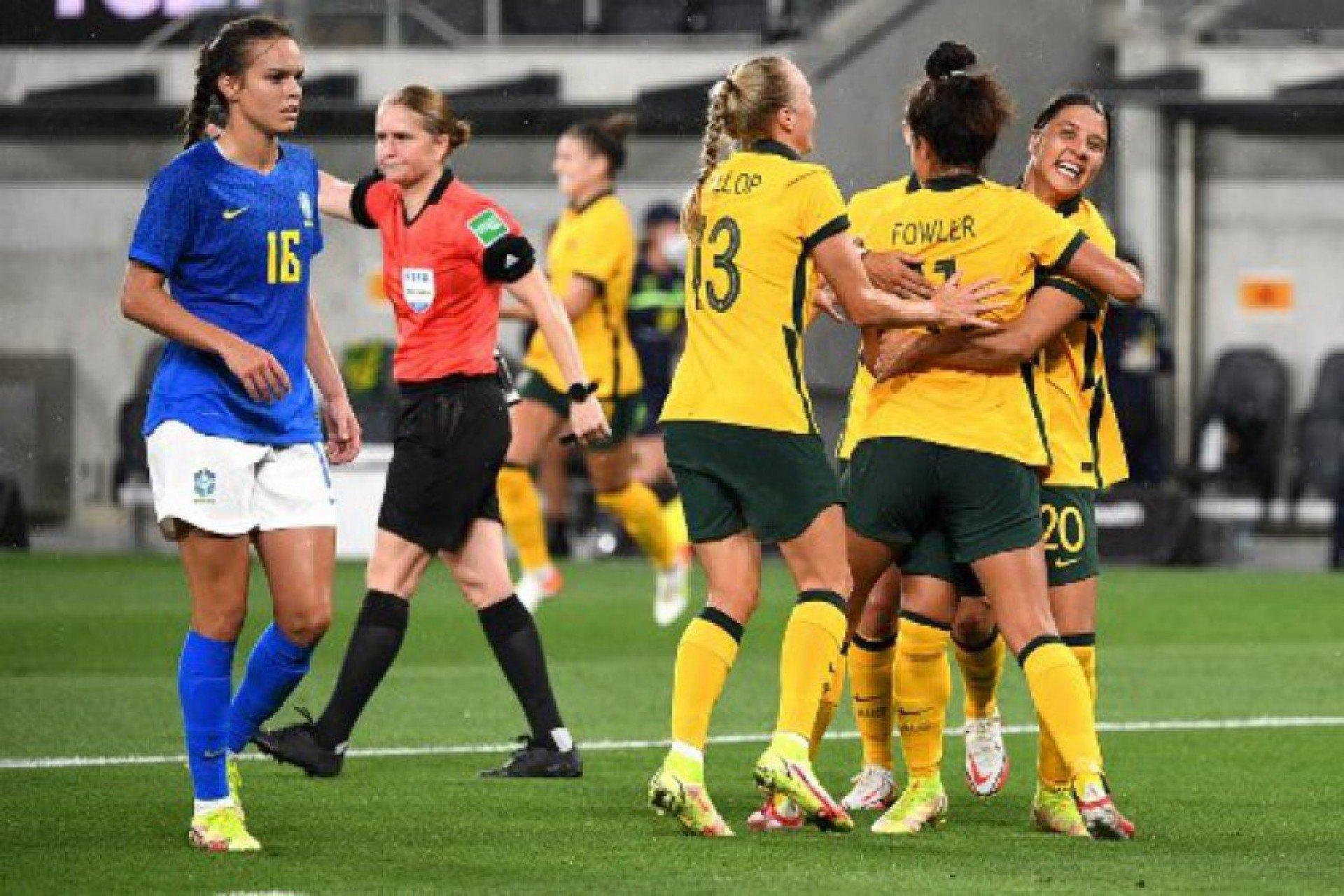 Seleção feminina do Brasil sofre derrota para Austrália em amistoso