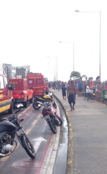 Globocop cai no Recife e deixa dois mortos
