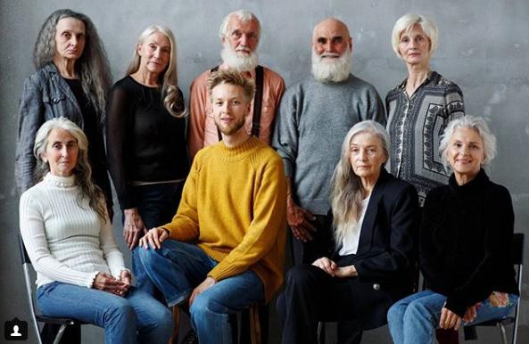 Agência trabalha apenas com modelos acima de 45 anos