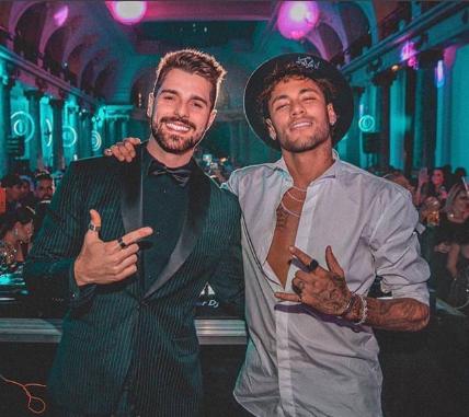 Alok e Neymar