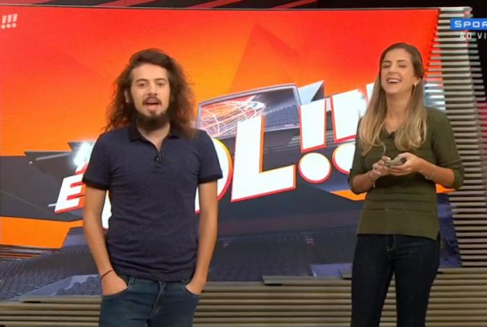 'É Gol', apresentado por Domitila Becker e Cartolouco, é extinto da grade do SporTV