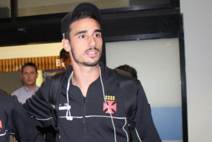 Thiago Galhardo confia na vit�ria do Vasco