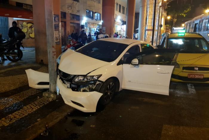 Criminoso foi levado para a 4ª DP (Praça da República)