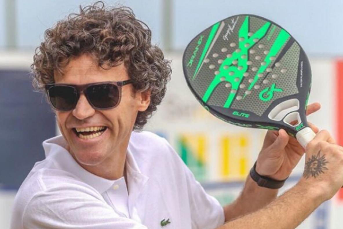 Gustavo Kuerten venceu o torneio de Roland Garros três vezes