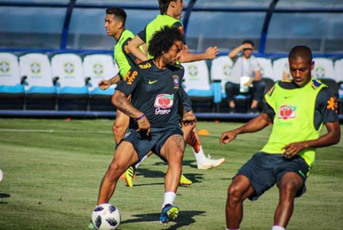 Marcelo ser� o capit�o da sele��o brasileira em partida de estreia contra a Su��a