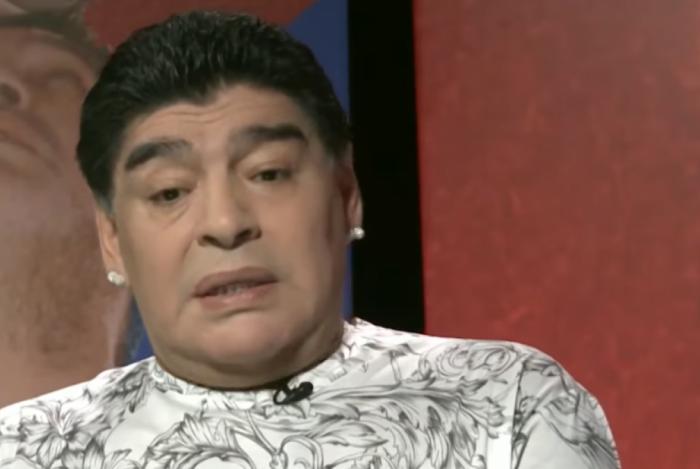 Maradona exagerou em Belarus