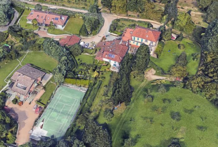 Nova mansão de Cristiano Ronaldo na Itália