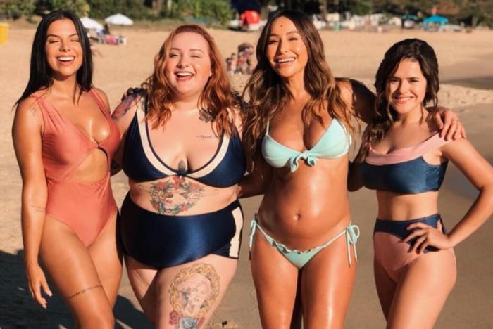 Evelyn Regly, Jéssica Lopes, Sabrina Sato e Maisa