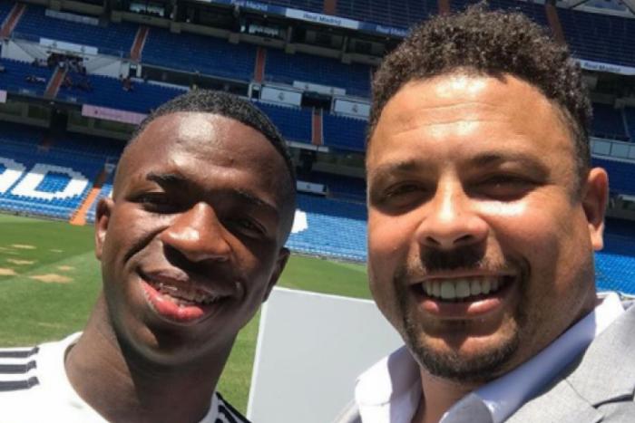 Ronaldo Fenômeno pode contratar Vinicius Junior para seu time