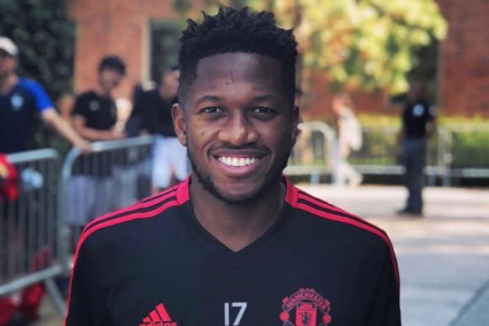 Fred faz primeiro treino pelo Manchester United