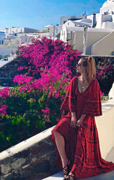 Marina Ruy Barbosa curtindo curtas férias na Grécia