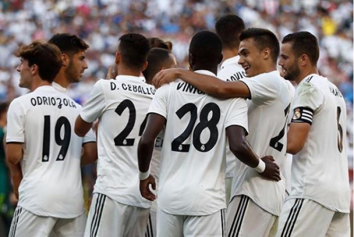 De virada e com assistência de Vinicius Junior, Real Madrid vence a Juventus por 3 a 1