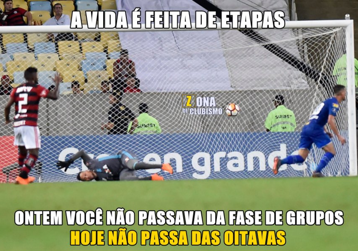 Flamengo é Eliminado Da Libertadores E Rivais Invadem Redes