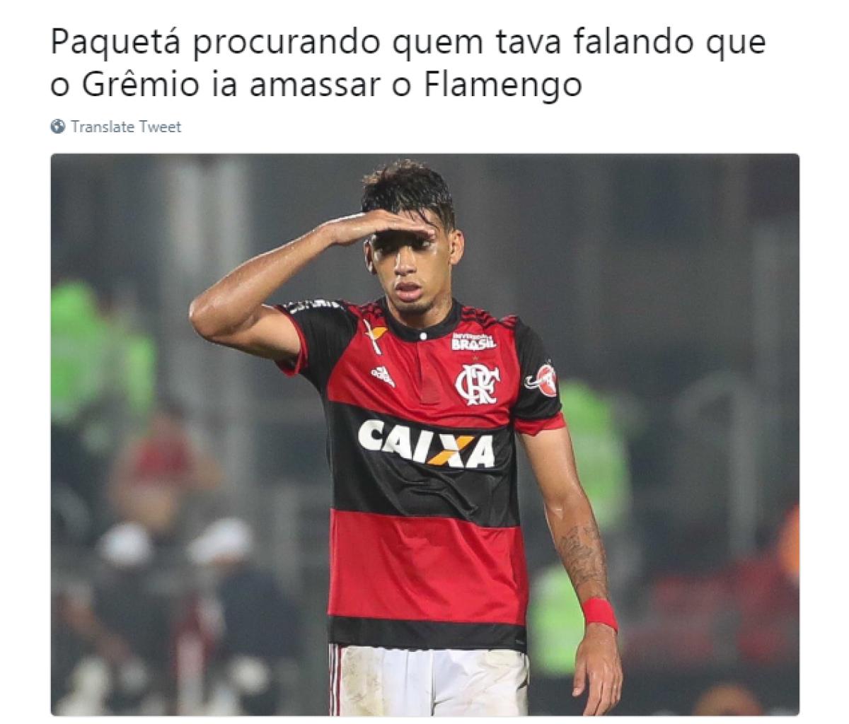 6005f509b9 Memes bombam na Web após classificação do Flamengo na semifinal da ...