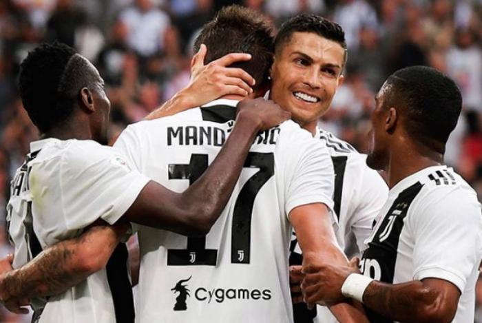 Cristiano Ronaldo não marca, mas Juventus superou a Lazio por 2 a 0