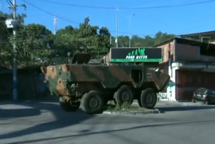 Forças Armadas fazem operação no Salgueiro