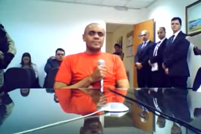 Adélio Bispo de Oliveira em depoimento