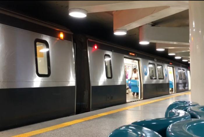 Metrô tem pane e para circulação nas linhas 1 e 2