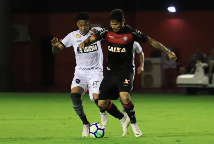 Botafogo vence o vitória e se afasta da zona de rebaixamento