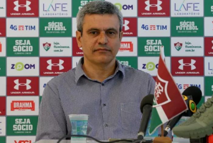 Douglas Santos, médico do Fluminense