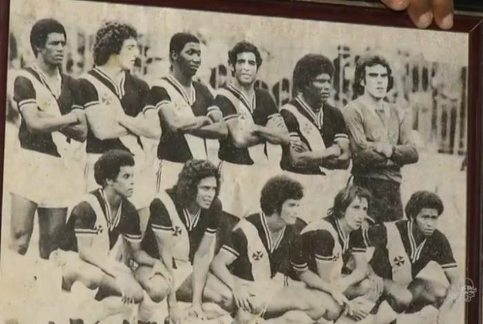 Argeu foi campeão brasileiro pelo Vasco em 1974