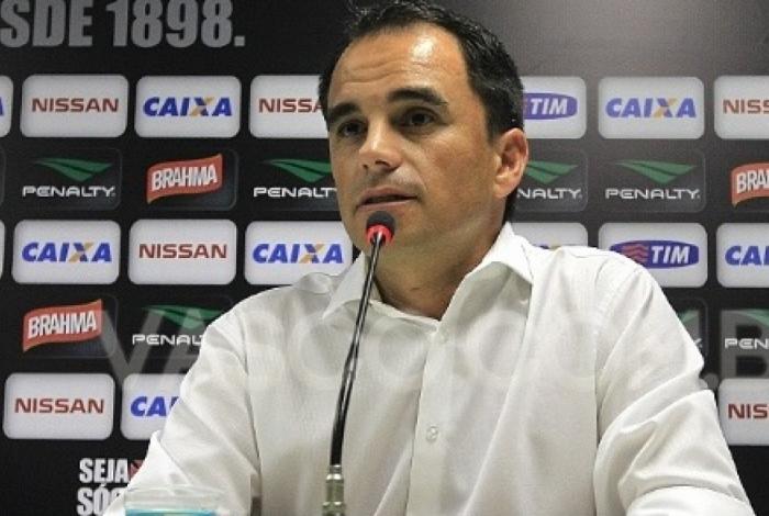 Rodrigo Caetano, hoje no Inter, trabalhou no Vasco e Flamengo