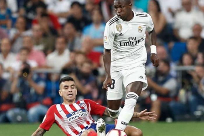 Vinicius Junior não foi liberado pelo Real Madrid