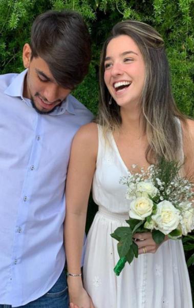 Paquetá se casou com Maria Eduarda Fournier