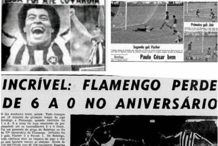 Botafogo ironiza Flamengo nas redes sociais