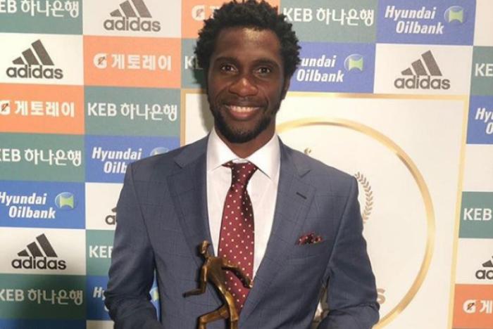 Negueba entra na seleção do Campeonato da Coreia do Sul