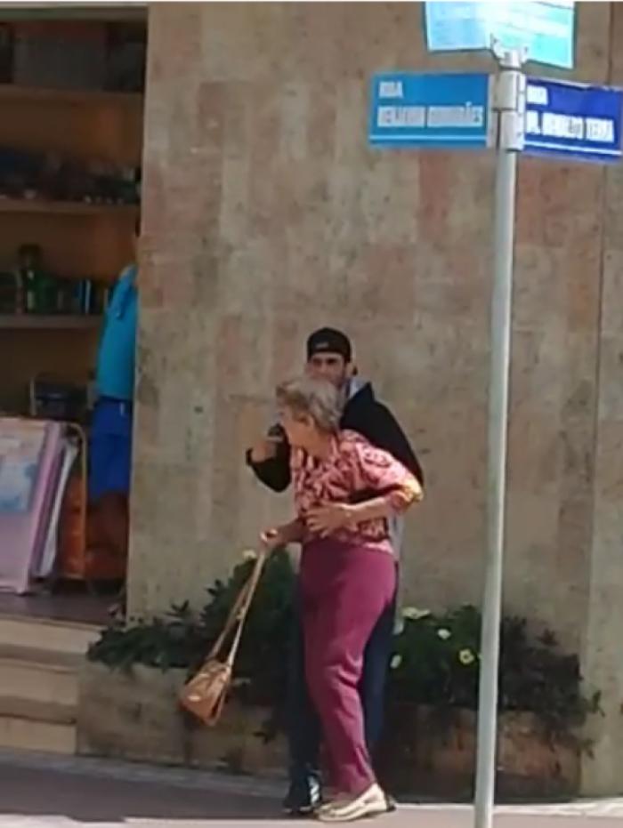 Bandido fez idosa refém em Valença
